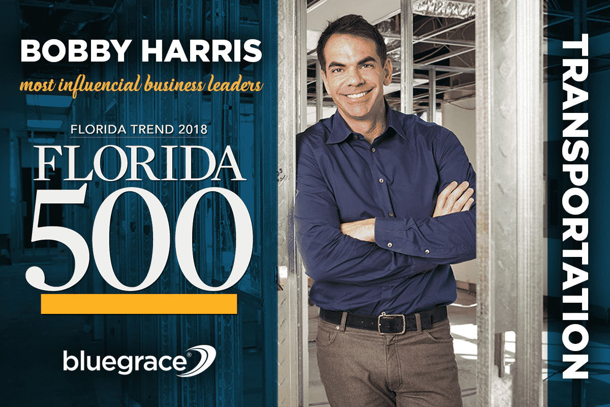 BlueGrace CEO Bobby Harris Named One of Florida's Most
